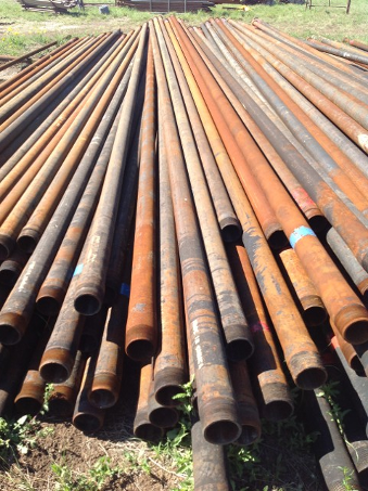 Used Oilfield Pipe For Fencing Hamilton, TX